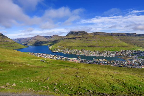 faroe islands bordoy klaksvik view istk