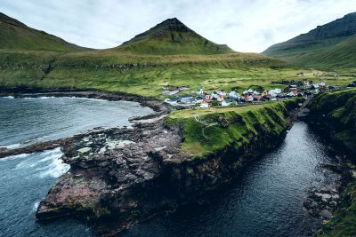 faroe islands coastal scene fitb md