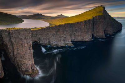faroe islands sorvagsvatn lake istk