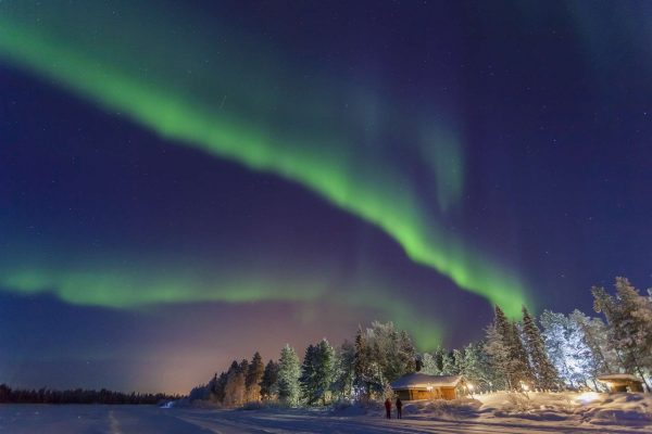 finland lapland muonio northern lights vf