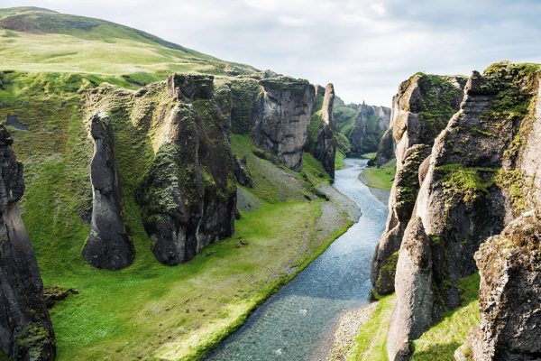 iceland south east fjadrargljufur canyon istk