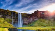 Iceland holidays - visit Seljalandsfoss in the south west