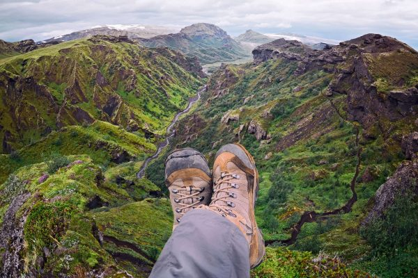 iceland south west thorsmork hiking boots adstk