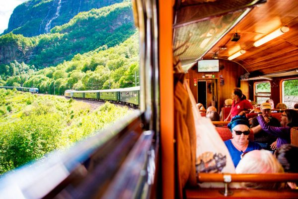norway fjords flam railway view and carriage vflm sh