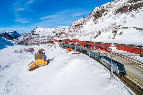 norway fjords flam railway winter view vflm pe