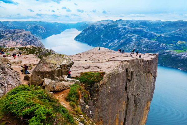 norway fjords pulpit rock adstk