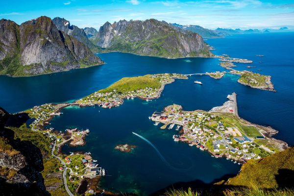 norway lofoten aerial islands istk
