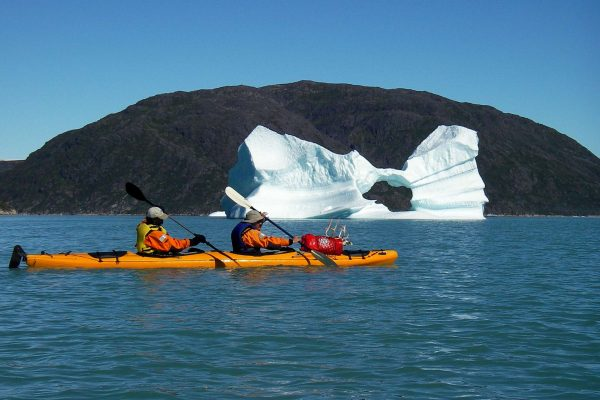 south greenland kayaking excursion sermiliq fjord taser