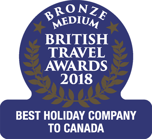 british travel awards 2018 canada bronze