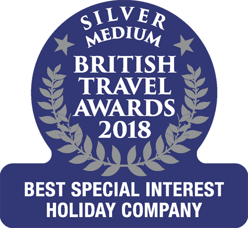 british travel awards 2018 special silver