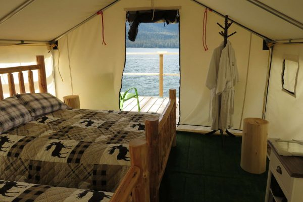 canada british columbia interior glamp camp ecot