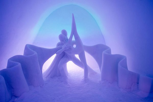 swedish lapland icehotel29 art suite dancing auroras ak