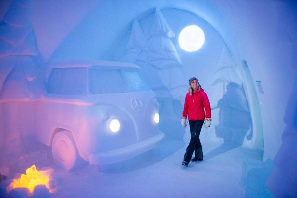 swedish lapland icehotel29 art suite spruce woods woman ak