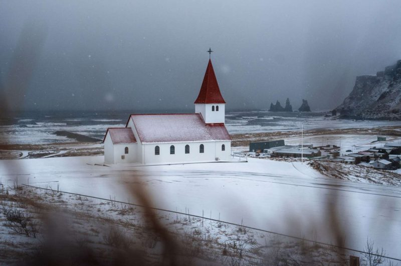 edu vik iceland snow