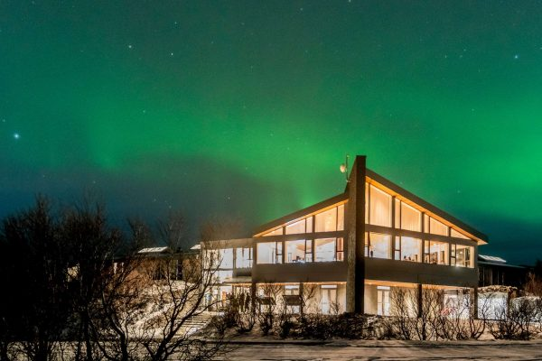husafell aurora over hotel jan2019