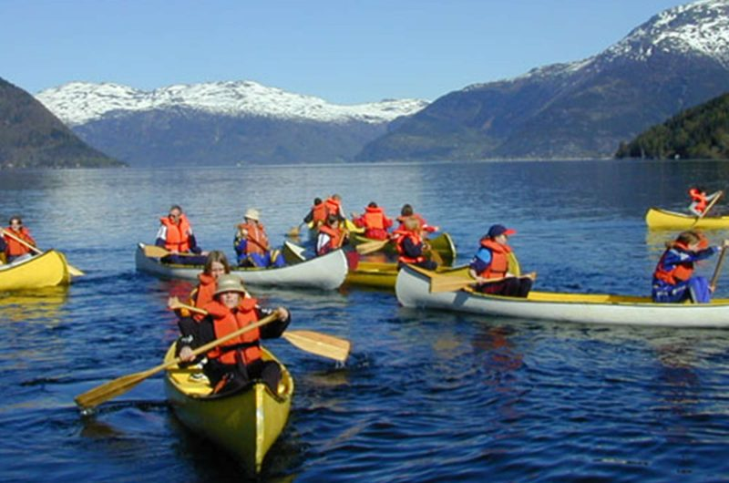 norway excursions canoeing mid