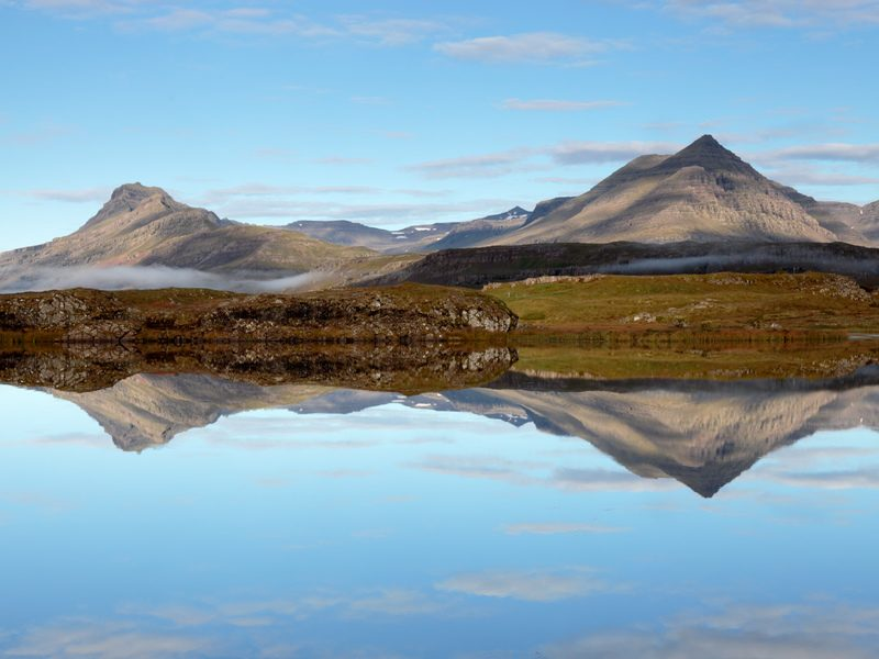 west iceland mountains william gray