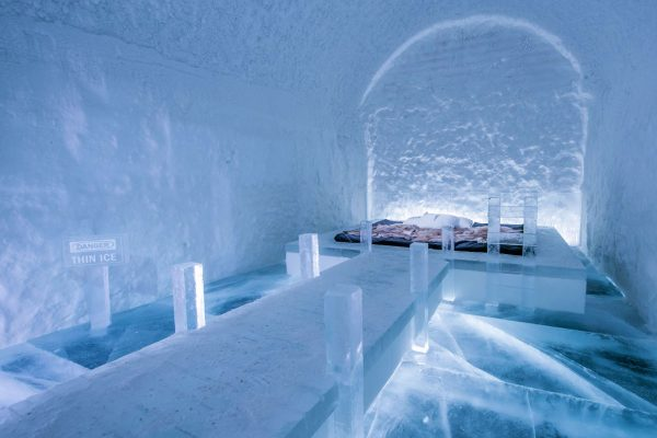 365 icehotel art suite danger thin ice ak