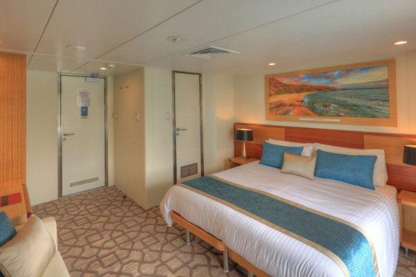 coral discoverer ship bridge deck balcony stateroom