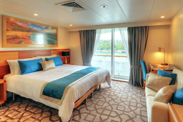 coral discoverer ship bridge deck balcony stateroom view