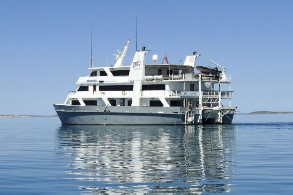 coral expeditions I ship ship exterior view
