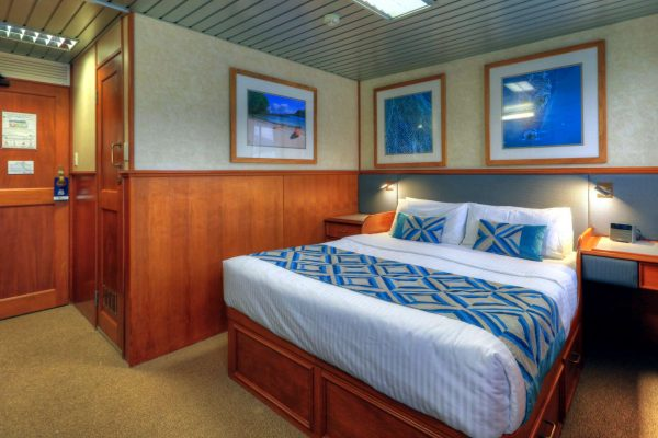 coral expeditions II ship stateroom double