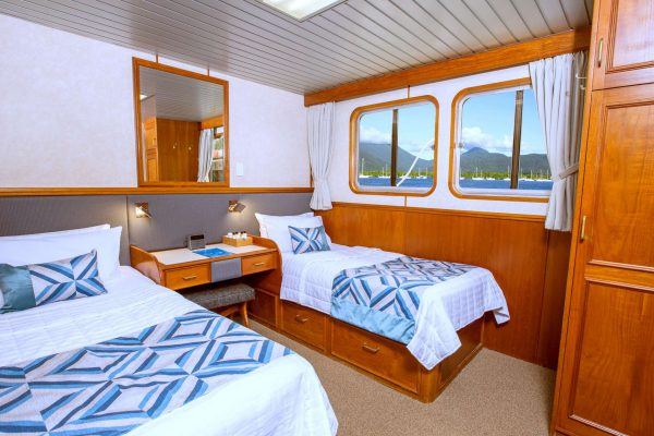 coral expeditions II ship twin cabin