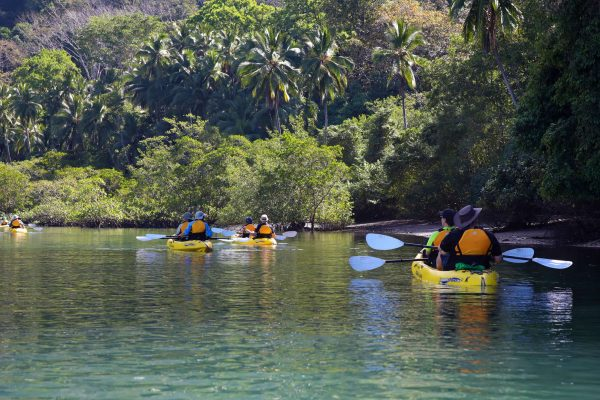costa rica coastal kayaking uncr