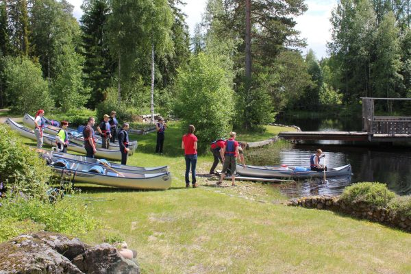 dalarna johannisholm canoes riverside launch