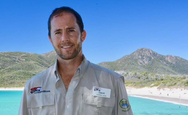 expedition guide david keech coral expeditions