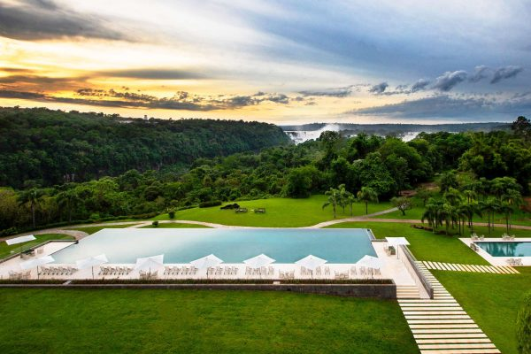 gran melia iguazu outdoor pool falls view