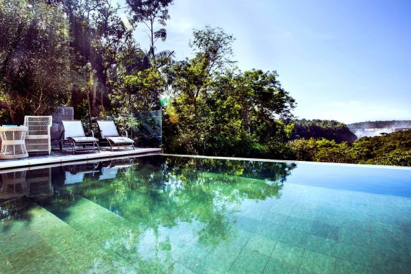 gran melia iguazu swimming pool view