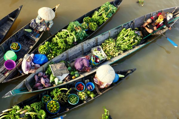 indonesia borneo banjarmasin floating market adstk