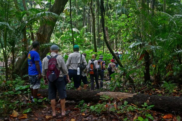 indonesia java hiking ujung kulon national park corexp