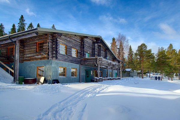 swedish lapland brandon lodge winter view gr