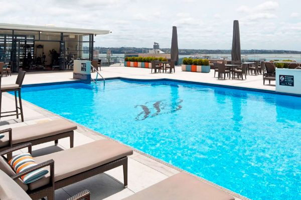 auckland heritage hotel rooftop pool