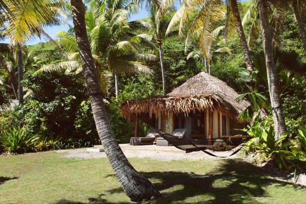 fiji tokoriki island resort beachfront bure