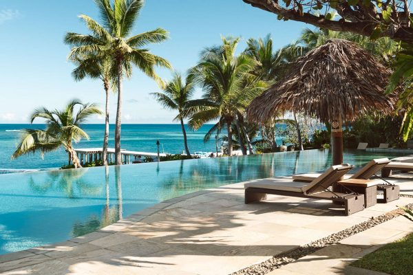 fiji tokoriki island resort pool view