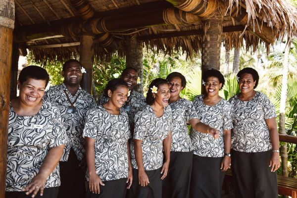 fiji tokoriki island resort warm welcome