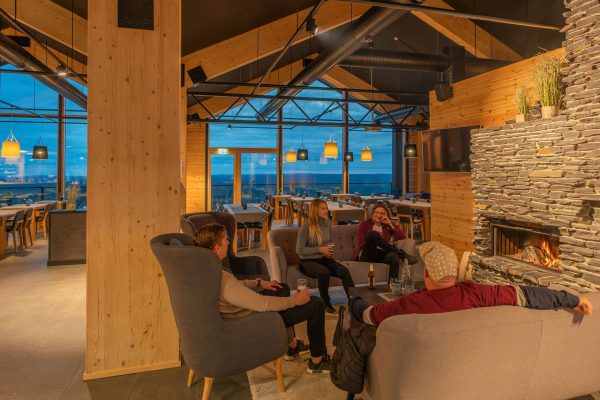 finnish lapland star arctic hotel fireside lounge