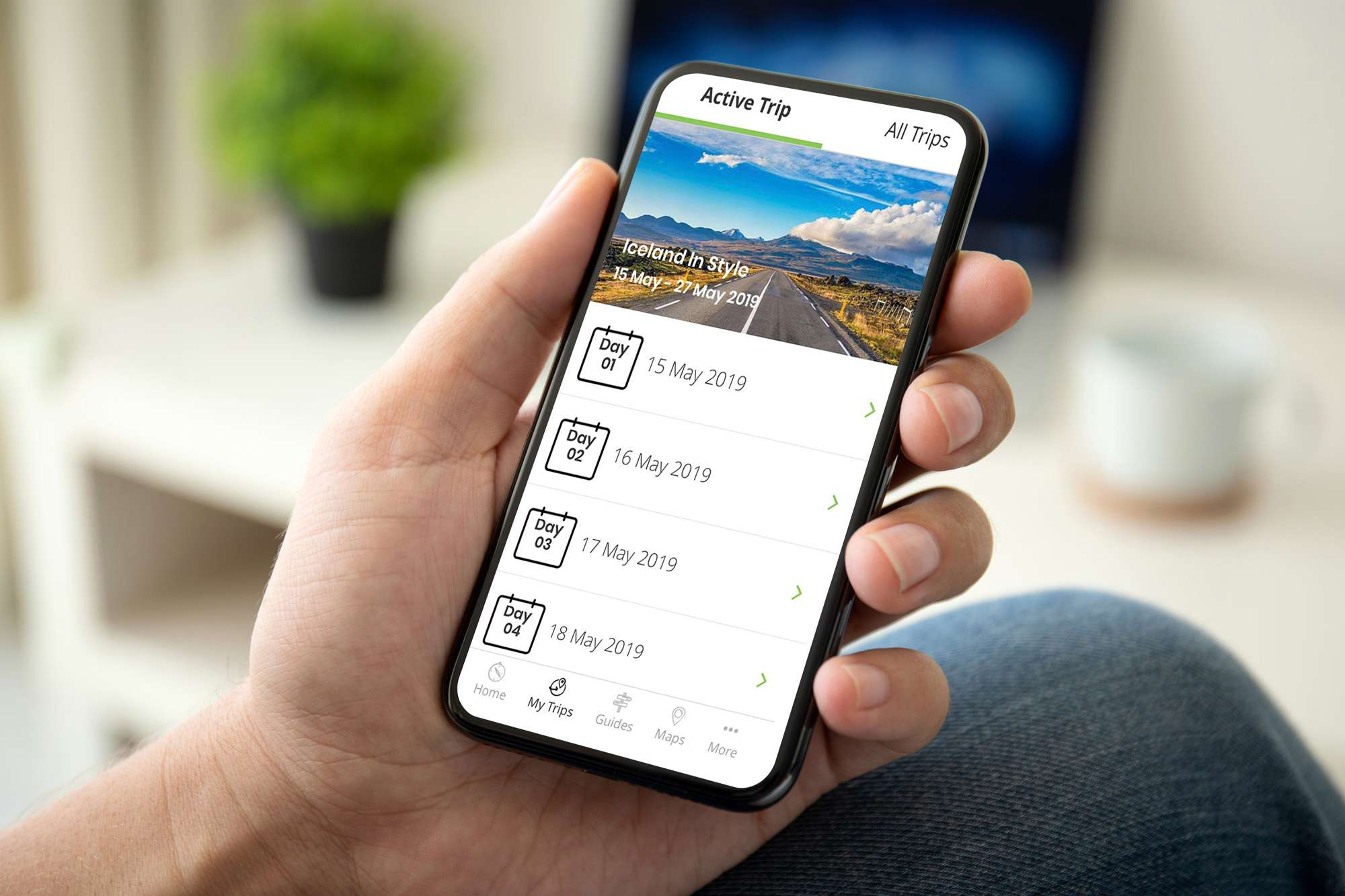 idiscover 2019 on iphone istk