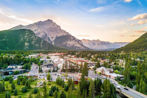 Banff and Cascade Mountain