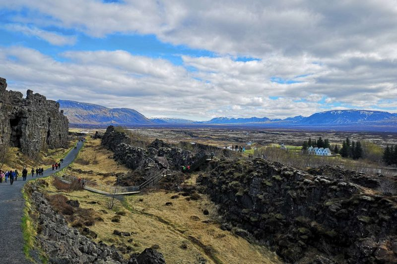 edu iceland team trip thingvellir
