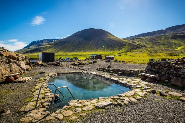 iceland north grettislaug hot pool