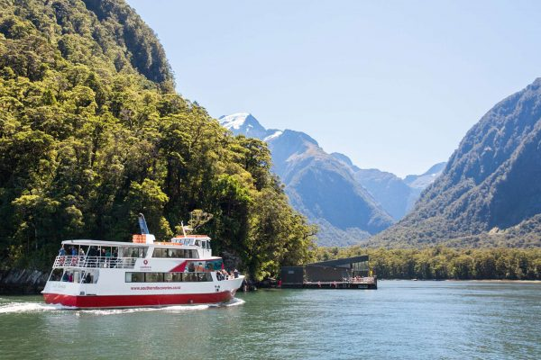 milford sound encounter nature cruise lady bowen view sthndisc