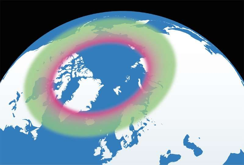 auroral zone northern hemisphere discover the world