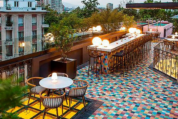 chile santiago luciano k rooftop terrace