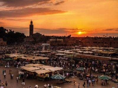edu morocco markets sunset