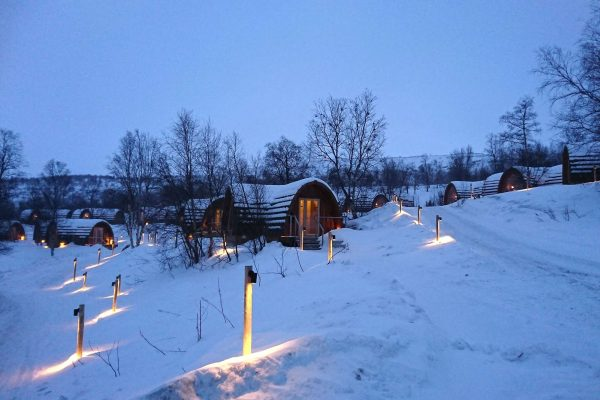 norway warm accommodation at kirkenes snowhotel