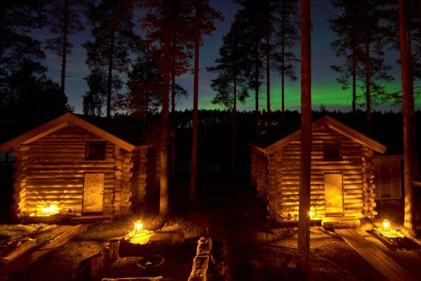 swedish lapland arctic retreat cabins and aurora